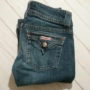 {Hudson} Mid Rise Boot Cut Jeans